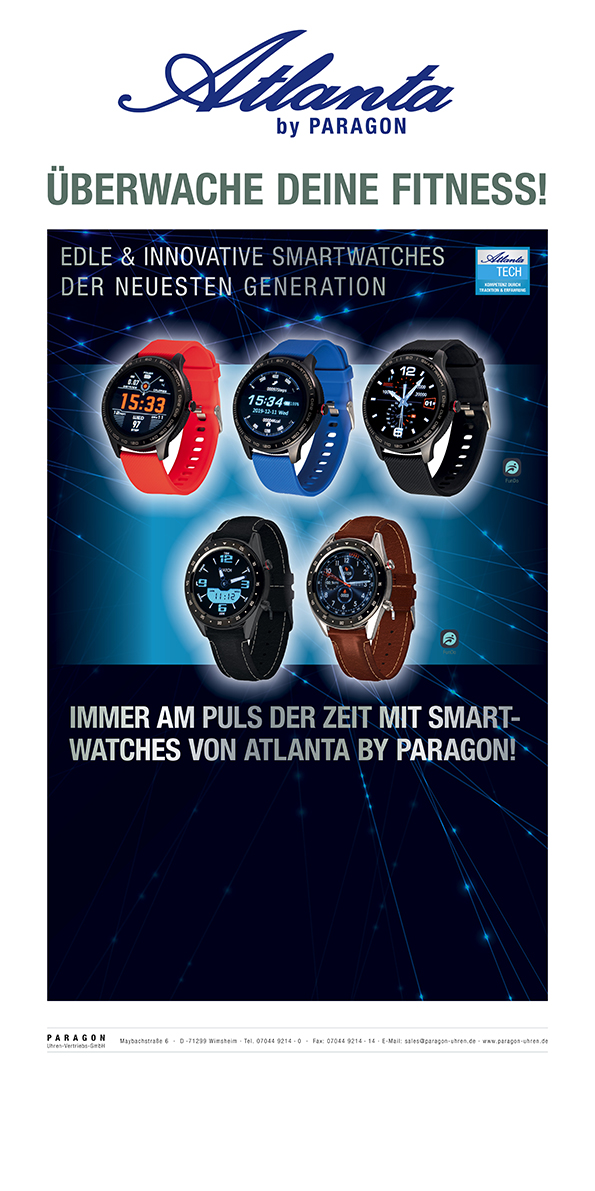 Neue Atlanta Smartwatches